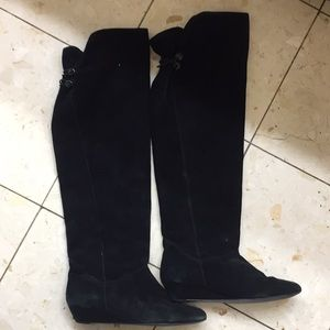 Steve Madden blondee over the knee suede boot